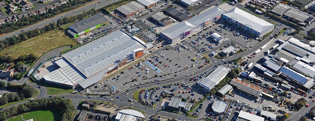 Dragonville Retail Park, Durham