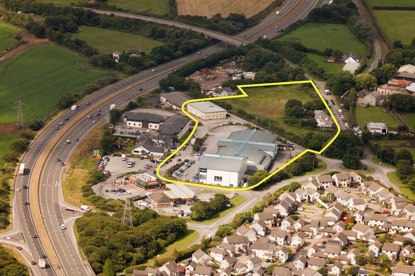 Kingsley Village aerial view