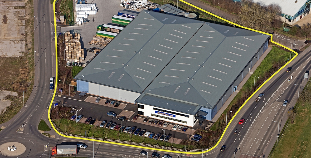 Glastonbury New Avalon Plastics Factory Morlands Enterprise Park