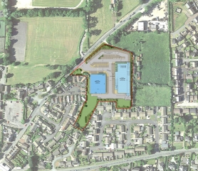 Barnard Castle Shopping Centre Site Plan